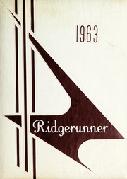 Swain County High School - Ridge Runner Yearbook (Bryson City, NC) online yearbook collection, 1963 Edition, Cover