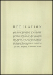 Page 9, 1945 Edition, Sweetwater High School - Red and Gray Yearbook (National City, CA) online yearbook collection