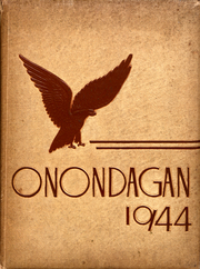 Syracuse University - Onondagan Yearbook (Syracuse, NY) online yearbook collection, 1944 Edition, Cover