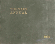 Taft School - Taft Annual Yearbook (Watertown, CT) online yearbook collection, 1905 Edition, Cover