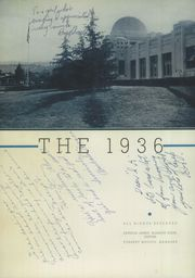 Page 6, 1936 Edition, Taft Union High School and Junior College - Derrick Yearbook (Taft, CA) online yearbook collection