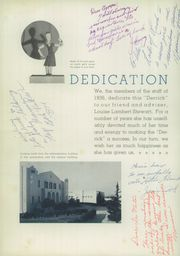 Page 8, 1936 Edition, Taft Union High School and Junior College - Derrick Yearbook (Taft, CA) online yearbook collection