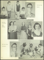 Tahoka High School - Kennel Yearbook (Tahoka, TX) online yearbook collection, 1955 Edition, Page 16 of 144