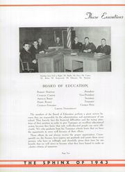 Tamaqua High School - Sphinx Yearbook (Tamaqua, PA) online yearbook collection, 1943 Edition, Page 14 of 140