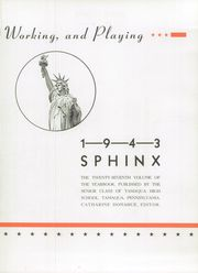 Tamaqua High School - Sphinx Yearbook (Tamaqua, PA) online yearbook collection, 1943 Edition, Page 7