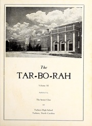 Tarboro High School - Tar Bo Rah Yearbook (Tarboro, NC) online yearbook collection, 1950 Edition, Page 5
