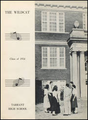 Tarrant High School - Wildcat Yearbook (Tarrant, AL) online yearbook collection, 1954 Edition, Page 7