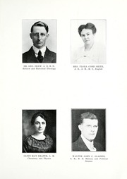 Taylor University - Ilium Gem Yearbook (Upland, IN) online yearbook collection, 1920 Edition, Page 11