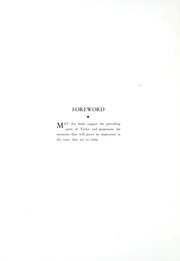 Taylor University - Ilium Gem Yearbook (Upland, IN) online yearbook collection, 1935 Edition, Page 8
