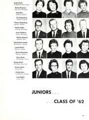 Taylor University - Ilium Gem Yearbook (Upland, IN) online yearbook collection, 1961 Edition, Page 57