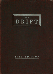 Taylorville High School - Drift Yearbook (Taylorville, IL) online yearbook collection, 1937 Edition, Cover