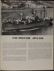 Telfair (APA 210) - Naval Cruise Book online yearbook collection, 1966 Edition, Page 5 of 72