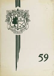 Temple University Ambler - Amble Yearbook (Ambler, PA) online yearbook collection, 1959 Edition, Cover