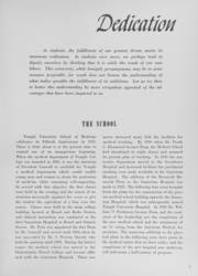 Page 11, 1952 Edition, Temple University School of Medicine - Skull Yearbook (Philadelphia, PA) online yearbook collection