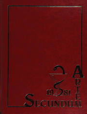 Temple University School of Pharmacy - Secundum Artem Yearbook (Philadelphia, PA) online yearbook collection, 1981 Edition, Cover