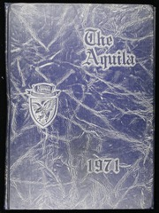 Terrell Academy - Aquila Yearbook (Dawson, GA) online yearbook collection, 1971 Edition, Cover