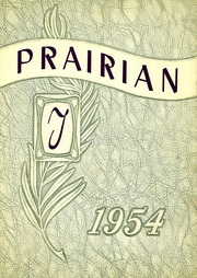 Terry High School - Prairian Yearbook (Terry, MT) online yearbook collection, 1954 Edition, Cover