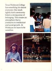 Texas Wesleyan University - Txweco Yearbook (Fort Worth, TX) online yearbook collection, 1982 Edition, Page 12
