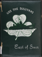 The Sullivans (DD 537) - Naval Cruise Book online yearbook collection, 1956 Edition, Cover