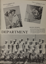 Page 15, 1956 Edition, The Sullivans (DD 537) - Naval Cruise Book online yearbook collection
