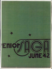 Theodore Roosevelt High School - Saga Yearbook (Bronx, NY) online yearbook collection, 1942 Edition, Cover