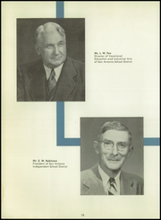Page 14, 1955 Edition, Thomas A Edison High School - Spark Yearbook (San Antonio, TX) online yearbook collection