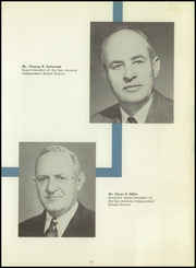 Page 15, 1955 Edition, Thomas A Edison High School - Spark Yearbook (San Antonio, TX) online yearbook collection