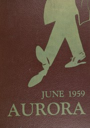 Thomas Jefferson High School - Aurora Yearbook (Brooklyn, NY) online yearbook collection, 1959 Edition, Cover