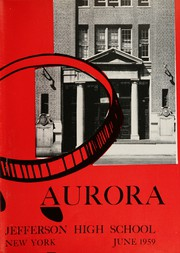 Page 7, 1959 Edition, Thomas Jefferson High School - Aurora Yearbook (Brooklyn, NY) online yearbook collection