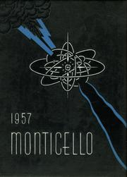 Thomas Jefferson High School - Monticello Yearbook (Tampa, FL) online yearbook collection, 1957 Edition, Cover