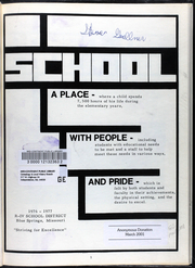 Page 7, 1977 Edition, Thomas Ultican Elementary School - Yearbook (Blue Springs, MO) online yearbook collection