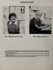 Page 8, 1973 Edition, Thompson Academy - Islander Yearbook (Boston, MA) online yearbook collection