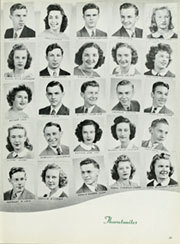 Thornton Township High School - Thorntonite Yearbook (Harvey, IL) online yearbook collection, 1943 Edition, Page 59