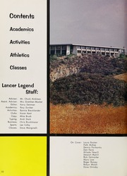 Page 14, 1967 Edition, Thousand Oaks High School - Lancer Legend Yearbook (Thousand Oaks, CA) online yearbook collection