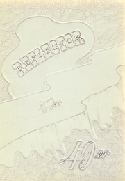 Three Rivers High School - Reflector Yearbook (Three Rivers, MI) online yearbook collection, 1949 Edition, Cover