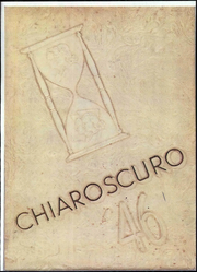 Tift College - Chiaroscuro Yearbook (Forsyth, GA) online yearbook collection, 1946 Edition, Cover