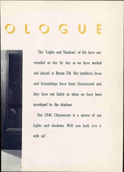Page 11, 1946 Edition, Tift College - Chiaroscuro Yearbook (Forsyth, GA) online yearbook collection