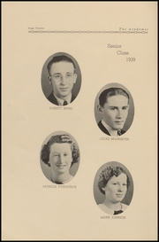 Tillamook Catholic High School - Academic Yearbook (Tillamook, OR) online yearbook collection, 1939 Edition, Page 16