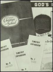 Page 8, 1956 Edition, Timothy Christian High School - Saga Yearbook (Elmhurst, IL) online yearbook collection