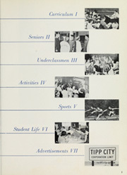 Page 7, 1961 Edition, Tippecanoe High School - Canoe Yearbook (Tipp City, OH) online yearbook collection