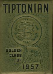 Tipton High School - Tiptonian Yearbook (Tipton, IN) online yearbook collection, 1957 Edition, Cover