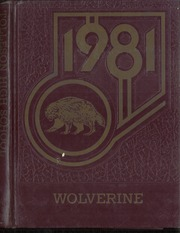 Tolleson Union High School - Wolverine Yearbook (Tolleson, AZ) online yearbook collection, 1981 Edition, Cover