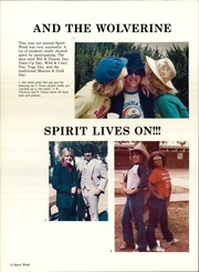 Tolleson Union High School - Wolverine Yearbook (Tolleson, AZ) online yearbook collection, 1981 Edition, Page 16