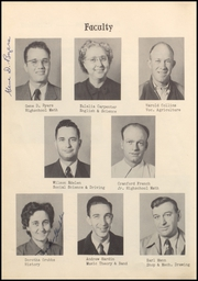 Tonkawa High School - Buccaneer Yearbook (Tonkawa, OK) online yearbook collection, 1950 Edition, Page 8