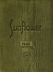 Topeka High School - Sunflower Yearbook (Topeka, KS) online yearbook collection, 1940 Edition, Cover