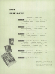 Page 6, 1940 Edition, Topeka High School - Sunflower Yearbook (Topeka, KS) online yearbook collection