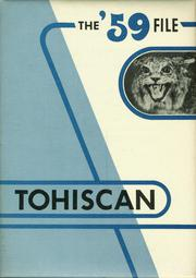 Toppenish Senior High School - Tohiscan Yearbook (Toppenish, WA) online yearbook collection, 1959 Edition, Cover