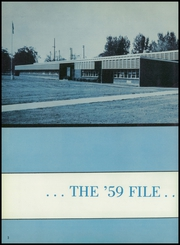 Page 6, 1959 Edition, Toppenish Senior High School - Tohiscan Yearbook (Toppenish, WA) online yearbook collection