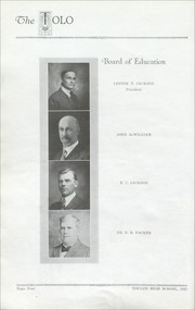 Toulon Township High School - Tolo Yearbook (Toulon, IL) online yearbook collection, 1923 Edition, Page 14