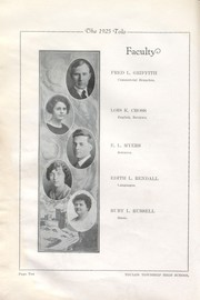 Toulon Township High School - Tolo Yearbook (Toulon, IL) online yearbook collection, 1925 Edition, Page 18